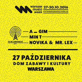 Koncerty: TBA MUSIC Showcase @ DZiK / 27.10.2016 / Warsaw Music Week
