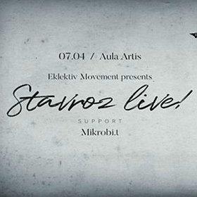 Imprezy: Eklektiv Movement pres. Stavroz Live!