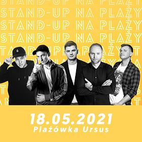 Stand-up: Stand-up na plaży! Leja x Krajewski x Kołecki x Gadowski x Borkowski | WYDARZENIE ODWOŁANE