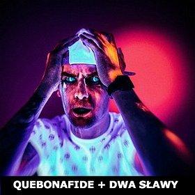 Koncerty: QUEBONAFIDE + DWA SŁAWY