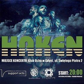 Koncerty: Haken, Rendezvous Point, Arkentype