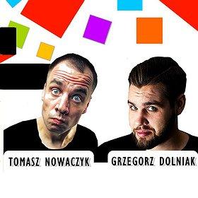 Inne: Kwadratowy Stand-up! – Grzegorz Dolniak, Tomasz Nowaczyk