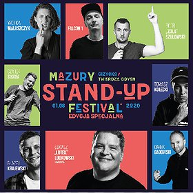 Stand-up: Mazury Stand-up Festival 2020 / Giżycko