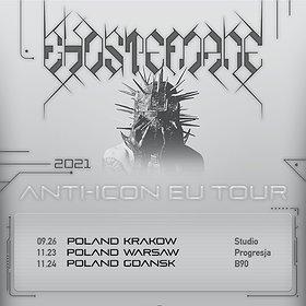Hip Hop / Reggae: Ghostemane | Kraków, Studio