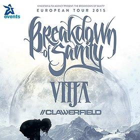 Hard Rock / Metal: Breakdown Of Sanity + VITJA (Niemcy), CLAWERFIELD (Szwajcaria)