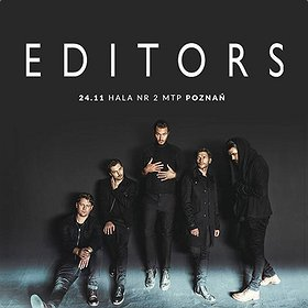 Koncerty: Editors - Poznań