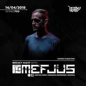 Muzyka klubowa: Breaky Night with Mefjus