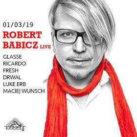 Muzyka klubowa: Robert Babicz Live | Sfinks 700