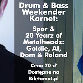 Events: Drum & Bass Weekender Kraków 2015