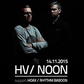 Koncerty: HV/NOON