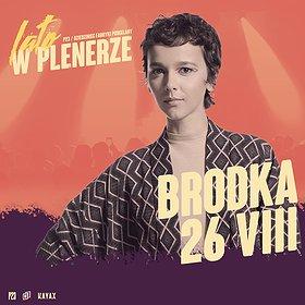 Pop / Rock: BRODKA | P23, Dziedziniec Fabryki Porcelany | Katowice