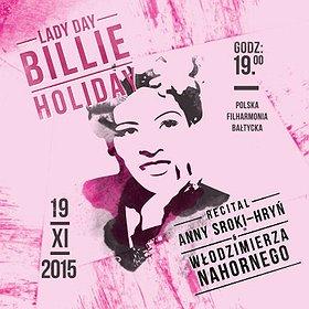 Koncerty: Lady Day - Billie Holiday
