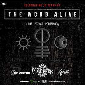 Koncerty: The Word Alive - Poznań