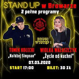 Stand-up: Tomek Kołecki & Wiolka Walaszczyk DRUGI WYSTĘP!