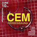 Clubbing: CEM (Herrensauna) | THE LADY MACHINE (Pornceptual) | STIGMATIQUE, Wrocław