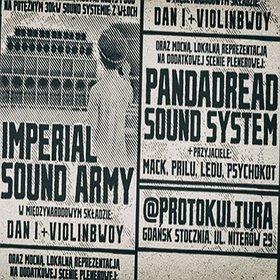 Koncerty: Dub Mass XXI: Imperial Sound Army feat. Dan I (IT), Violinbwoy (PL), Sammy Dreadlocks (UK)