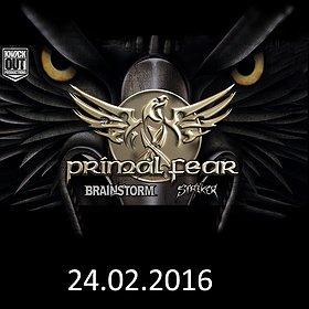 Koncerty: Primal Fear + Brainstorm + Striker