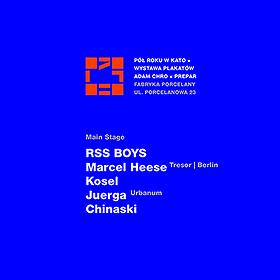 Imprezy: Pół Roku W Kato // RSS B0YS // Marcel Heese [Tresor]