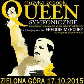 Koncerty: Queen Symfonicznie w Zielonej Górze!