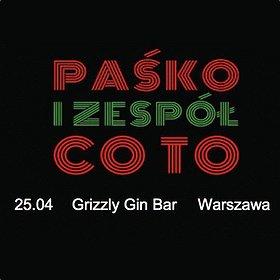 Concerts: Paśko i zespół Co To