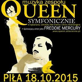 Koncerty: Queen Symfonicznie w Pile