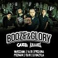 Hard Rock / Metal: Booze & Glory + Giuda, The Analogs - Poznań, Poznań