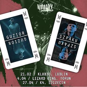 Koncerty: Guzior + Szpaku - Lublin