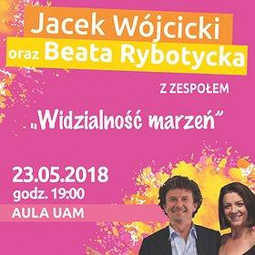 Concerts: JACEK WÓJCICKI I BEATA RYBOTYCKA - WIDZIALNOŚĆ MARZEŃ