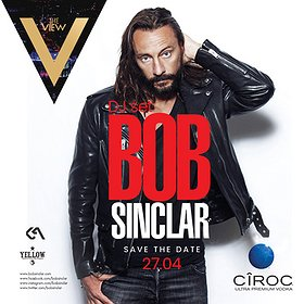 Imprezy: Bob Sinclar DJ set by Ciroc & The View