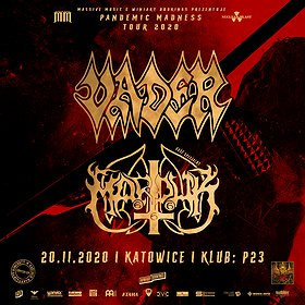 Hard Rock / Metal: VADER/MARDUK | KATOWICE - koncert odwołany