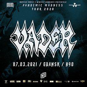 Hard Rock / Metal: Vader | Gdańsk - koncert odwołany