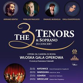 : The 3 Tenors & Soprano - Wrocław