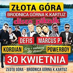 Koncerty: Disco Piknik Złota Góra