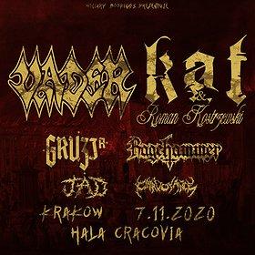 Hard Rock / Metal: Vader, Kat & Roman Kostrzewski + Gruzja, Ragehammer - koncert odwołany