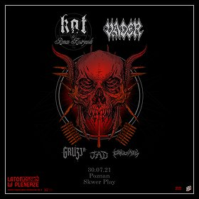 Hard Rock / Metal: Lato w Plenerze | KAT&ROMAN KOSTRZEWSKI,  VADER,  GRUZJA,  JAD | Poznań