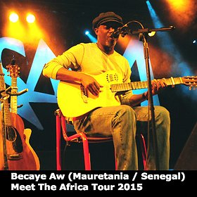 Koncerty: Becaye Aw - Meet The Africa Tour 2015