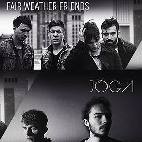 Koncerty: Fair Weather Friends & JÓGA