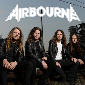 Koncerty: Airbourne