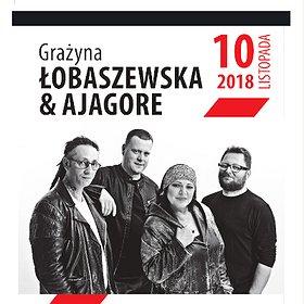 Koncerty: GRAŻYNA ŁOBASZEWSKA & AJAGORE