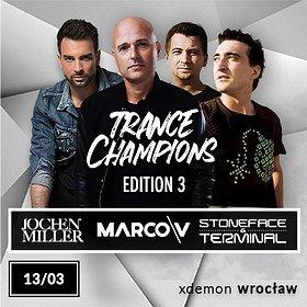 Muzyka klubowa: Trance Champions Edition 3 // X-Demon Wrocław