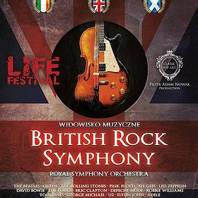 Koncerty: British Rock Symphony