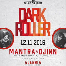 Events:  DarkRoller 17th Anniversary with Mantra & Djinn