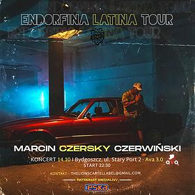 Koncerty: Endorfina Fiesta Latina Tour 2021 - Czersky w klubie Ava 3.0