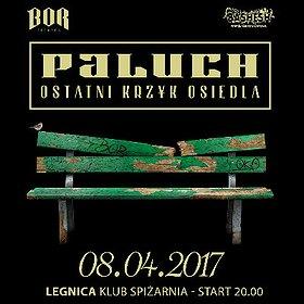 Koncerty: Paluch - Ostatni Krzyk Osiedla - Legnica