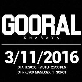 "Concerts: Gooral - premiera płyty ""Khabaya"""