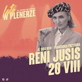 Pop / Rock: RENI JUSIS | P23, Dziedziniec Fabryki Porcelany | Katowice - koncert odwołany