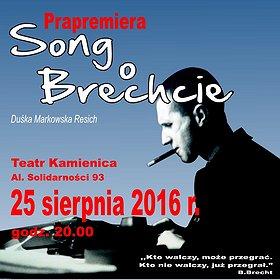 Teatry: SONG O BRECHCIE – PRAPREMIERA