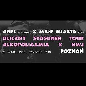 Koncerty: Małe Miasta + Abel Uliczny Stosunek Tour 2016