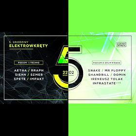 Muzyka klubowa: 5 Urodziny Elektrowkręty