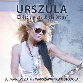 Concerts: Urszula XX-lecie płyty 'Biała droga'